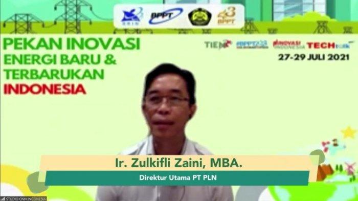 Zulkifli Zaini, Direktur Utama PLN.