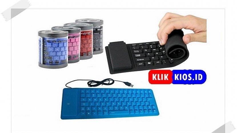 Belanja Yuk Ada Keyboard Flexibel Karet Di Kios Umkm Sulut Tribun Manado