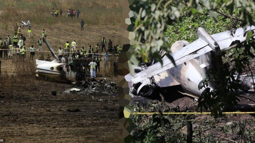 Dihari yang Sama Pesawat AU Meksiko dan Pesawat Militer Nigeria Jatuh, Seluruh  Penumpang Tewas - Tribun Manado