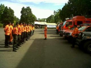 Badan SAR Nasional Manado Siaga Bencana