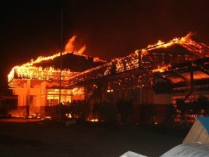 Lumentut Minta Warga Waspada Kebakaran