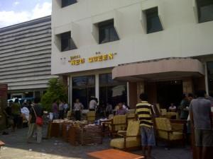 PN Manado Eksekusi Hotel New Queen