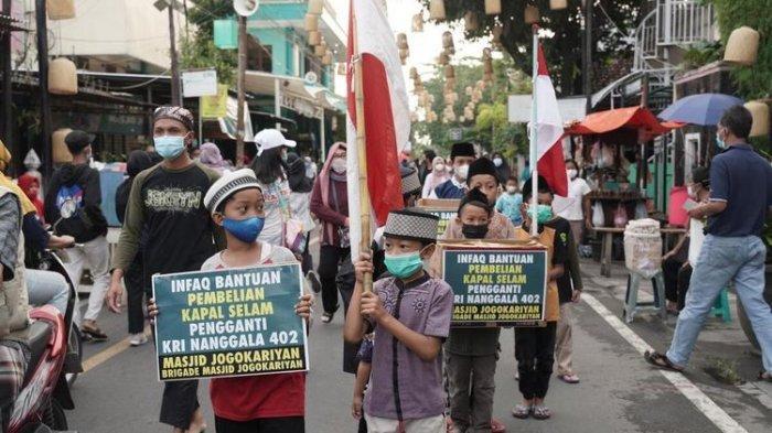 Aksi Anak Masjid Patungan Beli Kapal Selam Pengganti Nanggala-402, Hari Pertama Terkumpul 15 Juta