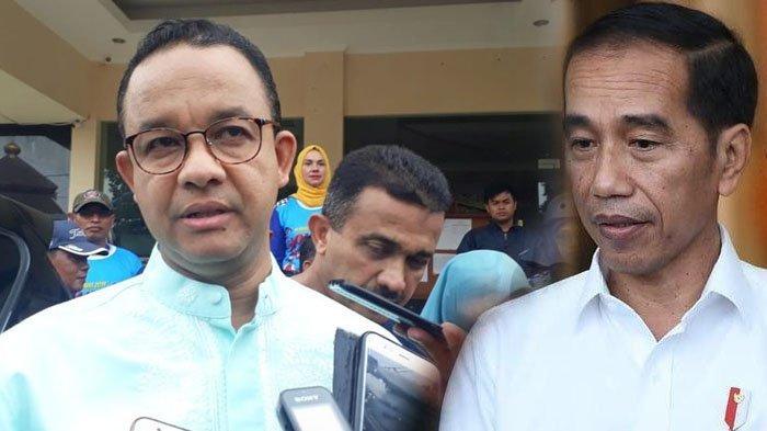 Reaksi Anies Baswedan Disindir Presiden Jokowi Soal Banjir Jakarta, Senyum Tipis Sambil Berlalu