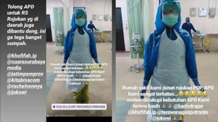 Ironi Tenaga Medis Indonesia Lawan Corona, Spesialis Paru Minim hingga Pakai APD dari Kantung Sampah