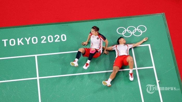 Raih Medali Emas Olimpiade Tokyo 2020, Berikut Perjuangan Greysia Polii /Apriyani Rahayu di Final!