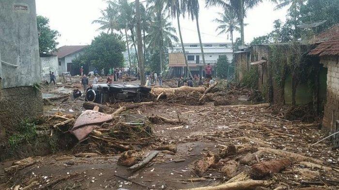 Fakta di Balik Banjir Bandang Sukabumi, Tinggi Capai 6 Meter, 2 Orang Dinyatakan Hanyut & Hilang