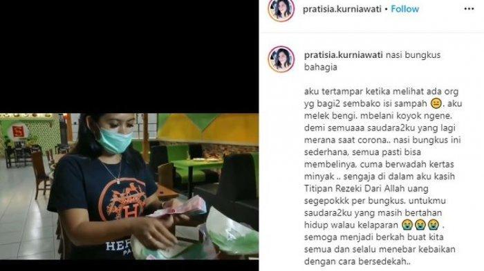 Video Viral Suami Istri Bagikan Nasi Bungkus di Jalanan, Malah Diisi Uang Jutaan Rupiah!