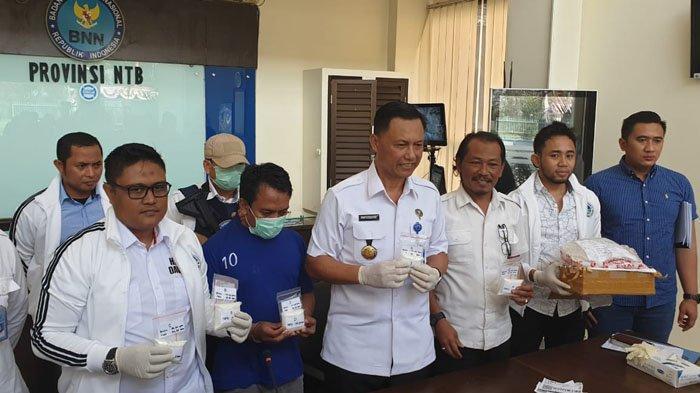 BNN Mataram Nusa Tenggara Barat / NTB Bongkar Jaringan Pengedar Sabu, Satu Keluarga Dimanfaatkan
