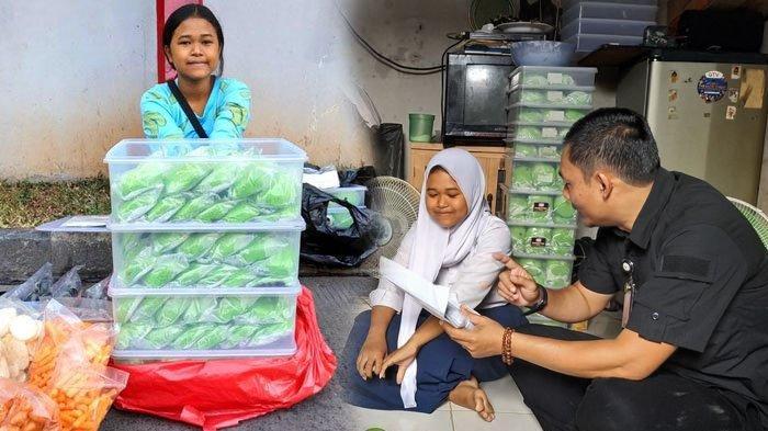 Viral Bocah SMP Kerjakan PR Nyambi Jualan Bakpau di Tangerang, Menarik Perhatian Jokowi hingga Ancol