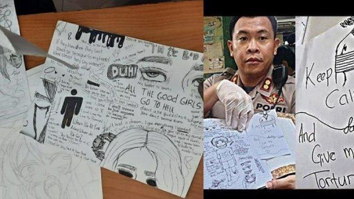 Makna Gambar Bernada Kebencian Siswi SMP Bunuh Bocah di Mata Pakar, Ada Rasa Sakit Terpaksa Ditahan