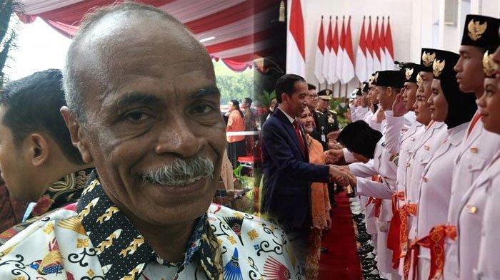 Demi Lihat Anak di Upacara HUT RI di Istana Negara, Orangtua Paskibraka Manokwari Susul ke Jakarta