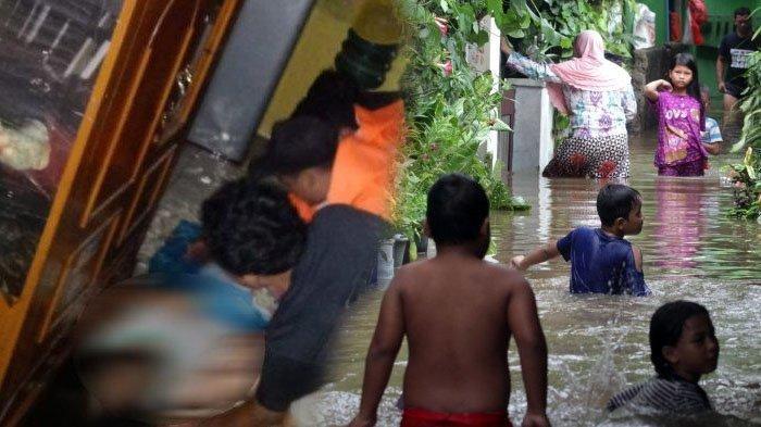 POPULER Identitas Lengkap Korban Tewas karena Banjir Jabodetabek, Hipotermia hingga Tersetrum