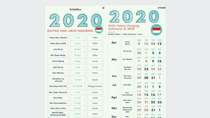 Tanggal Merah Desember 2020 - Update Terbaru Jadwal Libur ...