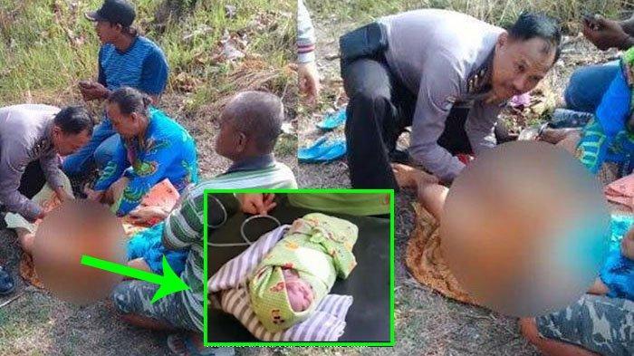 POPULER Polisi Bantu Proses Melahirkan Prematur, Ibu Terkulai Lemah Kepala Bayi Sudah Keluar