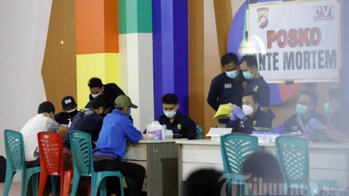 PENTING Swab Antigen Dulu Sebelum Setor Identitas Pribadi Penumpang Sriwijaya Air SJ182 ke RS Polri