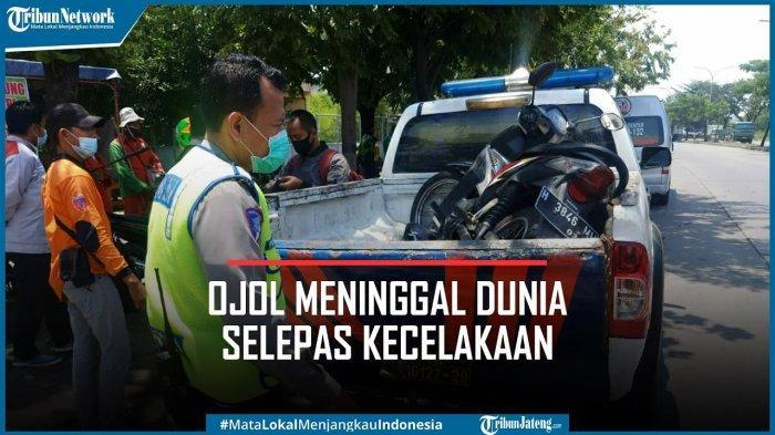 Kecelakaan, Ojol di Semarang Sebut Nama Allah Sebelum Meninggal, Butiran Tasbih Berceceran di Jalan