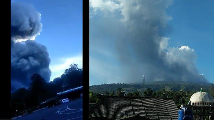 Video Kepanikan Warga Selamatkan Diri Saat Gunung Tangkuban Perahu Erupsi, Teriakkan Takbir