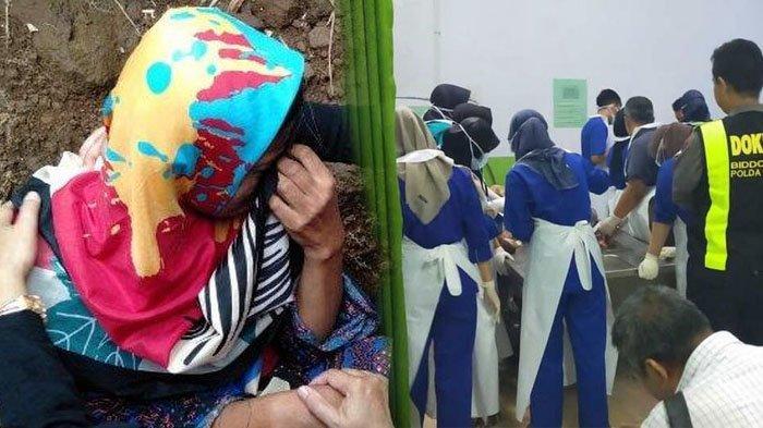 Teriakan Histeris Ibu Siswi SMP Tewas di Drainase Dibohongi Eks Suami, Wajah Merah Kepalkan Tangan