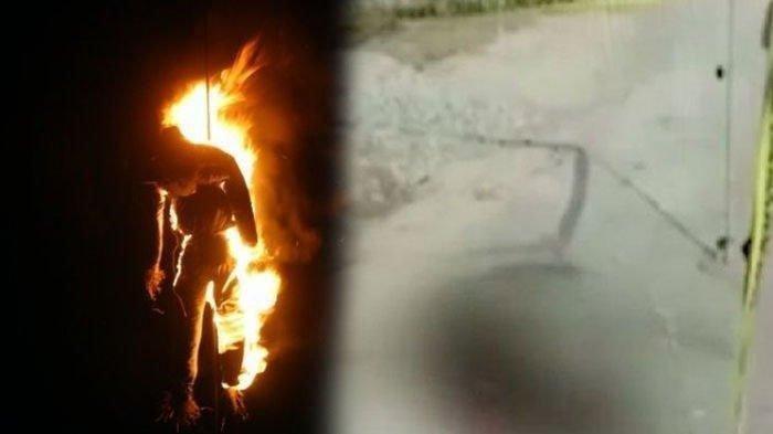 Kejinya Ayah Bakar Anak Balita yang Tunawicara Pakai Daun Kelapa & Bara Api, Berdalih Usir Nyamuk