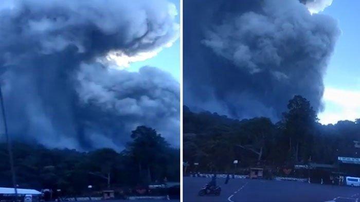 Erupsi Gunung Tangkuban Parahu Bandung, Status Dinyatakan Normal, Wisatawan Tetap Dilarang Mendekat