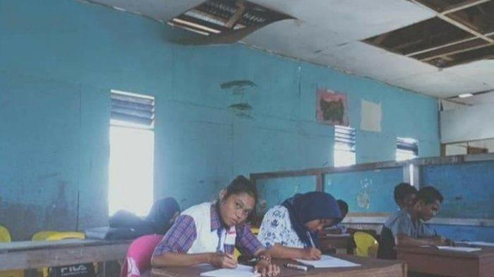 Ilustrasi ruang kelas