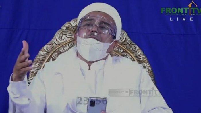Rizieq Shihab Sempat Buat Polisi Kalang Kabut, Teriak Kesakitan dari Balik Sel karena Asam Lambung