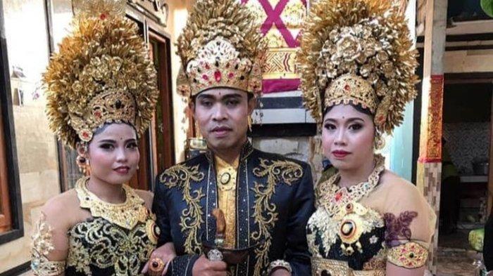 Sempat Dipacari Diam-diam, Duda Asal Bali Ini Akhirnya Nikahi 2 Kekasihnya, 3 Tahun Hidup Harmonis