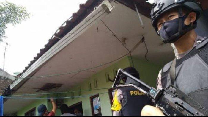Illustrasi penangkapan anggota teroris yang dilakukan tim Densus 88 Antiteror Polri.