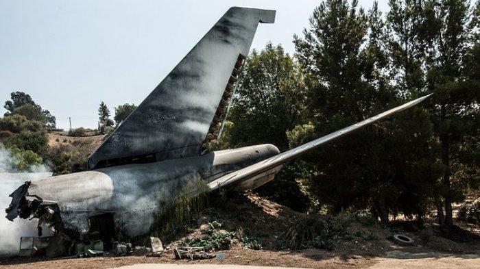 Ilustrasi Pesawat Jatuh - Berikut deretan fakta terkait jatuhnya pesawat Rimbuh Air di Intan Jaya, Papua.