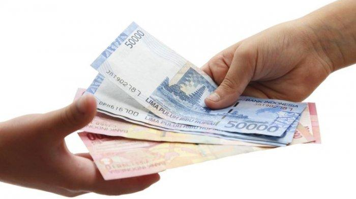 Ilustrasi uang BLT