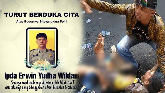 Ipda Erwin Polisi yang Dibakar di Cianjur Meninggal, Dimakamkan Hari Ini Tinggalkan Istri & Dua Anak