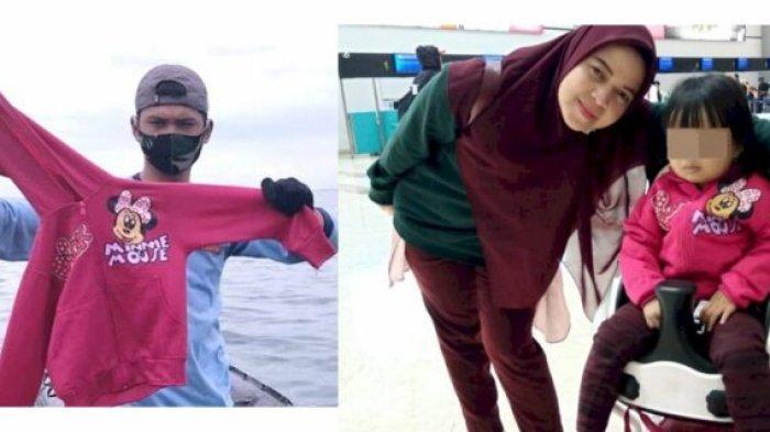 Jaket Minnie Mouse ditemukan utuh di tengah serpihan pesawat Sriwijaya Air SJ 182.