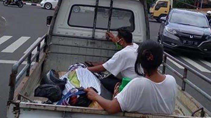 Fakta Pilu Jenazah Diangkut Pakai Mobil Pikap, Tak Kuat Sewa Ambulans, Utang Biaya Rawat 17Juta
