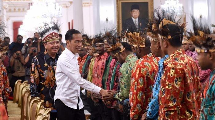 9 Tuntutan Tokoh Papua Saat Bertemu dengan Presiden Joko Widodo