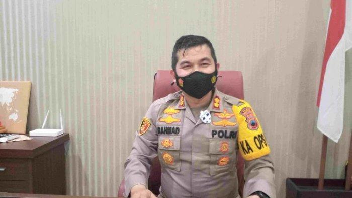 Kapolres Salatiga AKBP Rahmad Hidayat mengapresiasi pedagang yang mematuhi jam malam dan aturan PPKM.