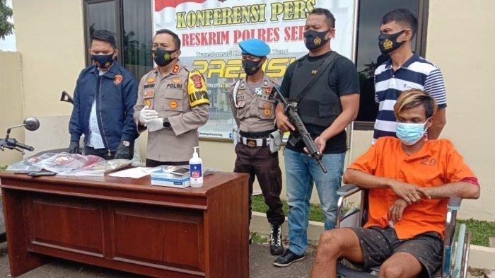 Kronologi Lengkap Pembunuhan di Serang, Pelaku Rudapaksa Jenazah Korban Lalu Simpan Celana Dalamnya