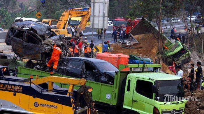 Ini Pesan Terakhir yang Diungakap Keluarga Korban Meninggal dalam Kecelakaan Beruntun Tol Cipularang