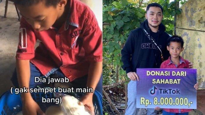 Polosnya Jawaban Bocah Penjual Bakpao Viral di TikTok: Gak Sempet Main, Bantu Dagang Biar Bisa Makan