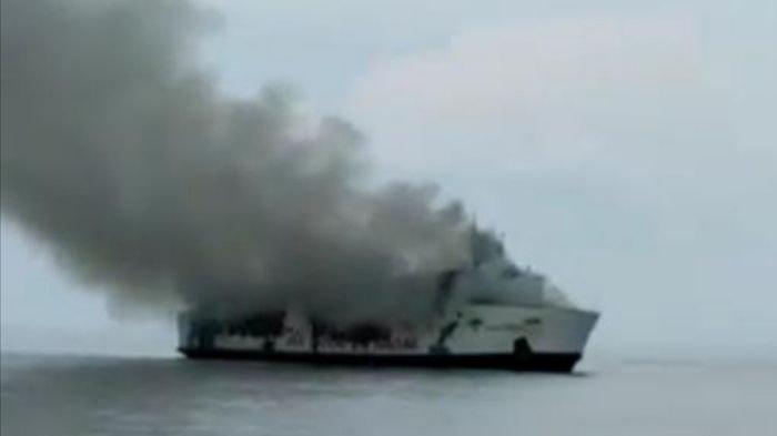 Basarnas: Jumlah Penumpang KM Santika Nusantara yang Terbakar Tak Sesuai Manifes Awal