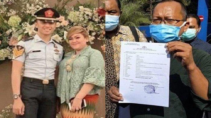 Kolase Foto Olivia Nathania dan suami serta kuasa hukum korban yang melaporkannya.