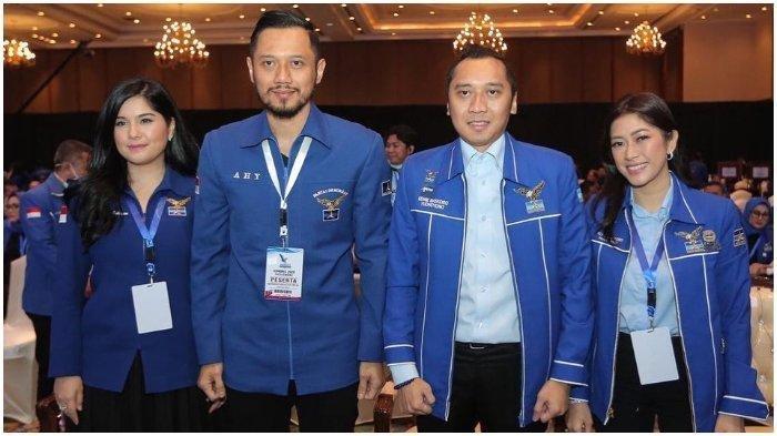 Agus Harimurti Yudhoyono (AHY) terpilih secara aklamasi sebagai Ketua Umum (Ketum) Partai Demokrat periode 2020 - 2025.