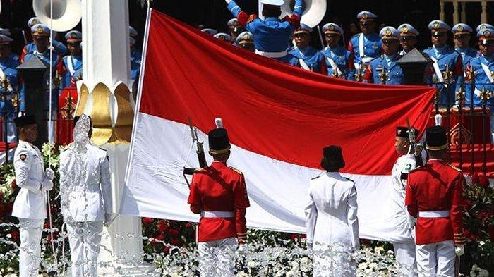 Ada Kejutan dalam Detik-detik Upacara Hari Merdeka RI ke-74 di Istana Negara, Beda dari Tahun Lalu