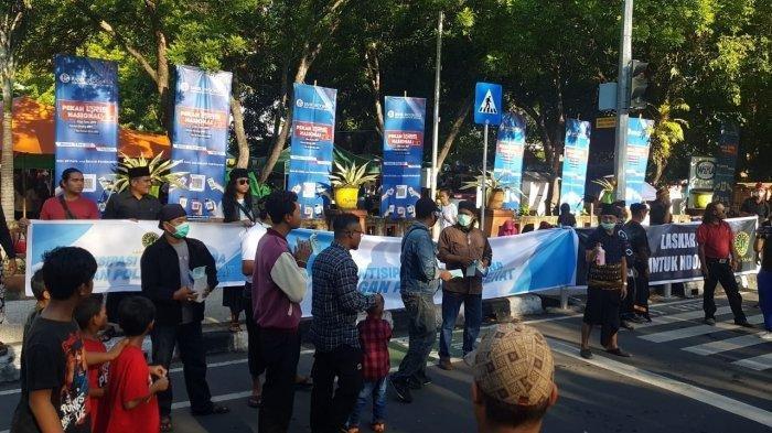 Dari Nusa Tenggara Barat untuk Indonesia, Laskar Sasak Bagikan 1000 Masker untuk Perangi Covid-19