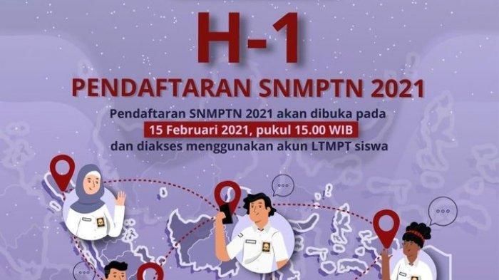 Dimulai Besok, Berikut Cara & Tahapan Pendaftaran SNMPTN 2021, Langsung Login di portal.ltmpt.ac.id