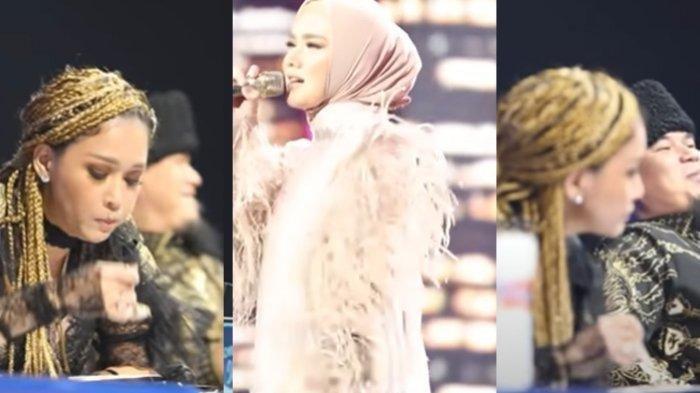 Tingkah Maia Estianty Duduk Berjejeran dengan Ahmad Dhani Lihat Mulan Nyanyi, Endingnya 'Hilang'