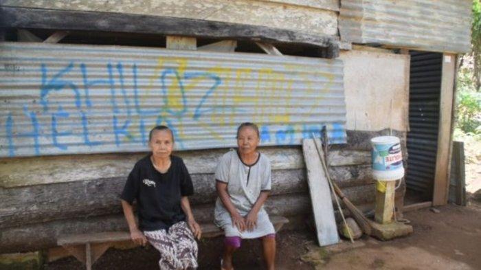 Pasangan Ibu dan Anak yang Sudah Lansia Terpaksa Cari Kelapa Hingga Sisa Gabah, Tapi Tetap Bersyukur