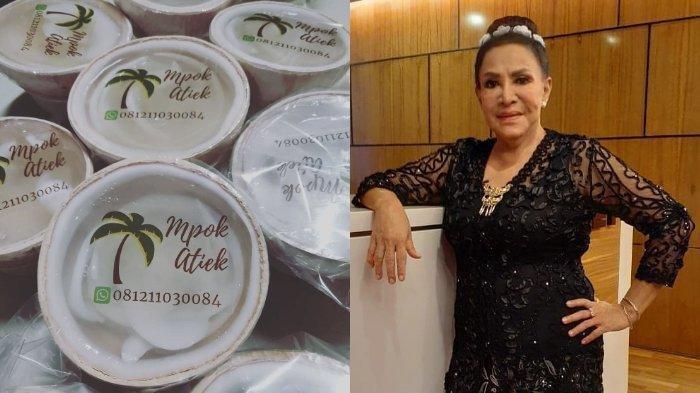 Masa Tua Mpok Atiek, Kini Dagang Kelapa & Blak-blakan: Gak ke Dokter Kecantikan, Mending Beli Beras