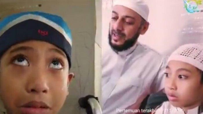 VIDEO Naja Tak Henti-hentinya Nangis dengar Syekh Ali Jaber Meninggal, Kaki Pernah Dicium Sang Ulama