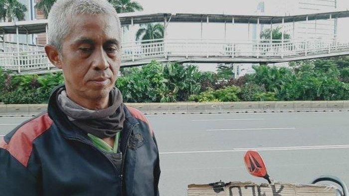 Demi Bisa Makan saat PSBB Corona, Tukang Ojek Rela Dibayar 'Terserah Penumpang' Saking Sepinya Order